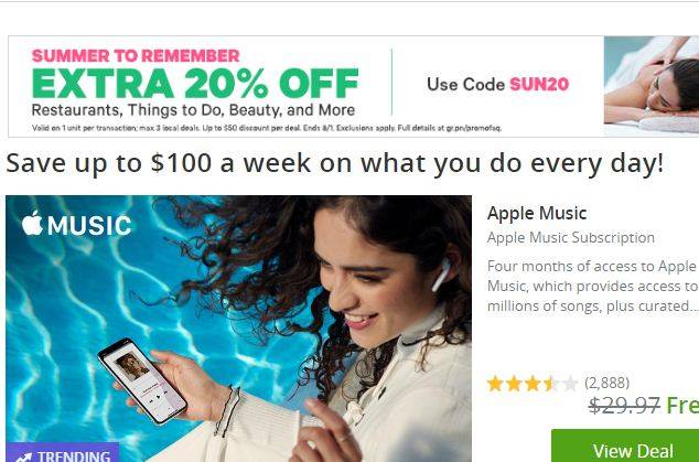 Groupon Black Friday Promo Code 2019